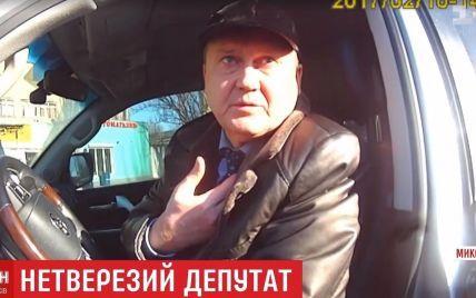 Випив ліки і хотів сплатити штраф: депутат із Миколаєва заперечив п'яне водіння і хабар копам