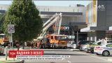 В Австралії літак упав на торговельний центр
