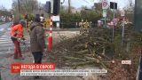 У Європі лютує руйнівний ураган
