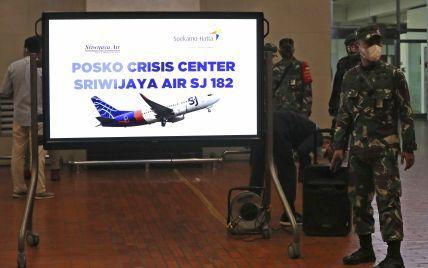 Падіння літака в Індонезії: Boeing 737 не подавав сигнал біди