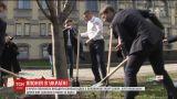 Украину засадят японской сакурой