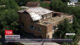 Новости Украины: в Первомайске сорвало крышу суда и тысячи документов с чердака разнесло ветром