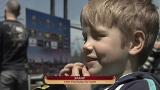 Семьи футболистов Днепра поддерживают своих родных перед матчем Днепр-Севилья