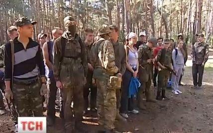 В Киеве молодежь готовят к обороне города от врага