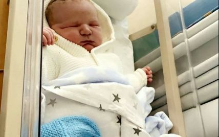В Великобритании женщина родила крупного ребенка: как выглядит малыш