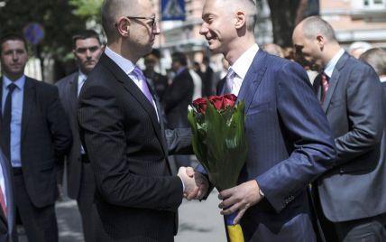 У Порошенко не обсуждали будущее Яценюка в случае его отставки