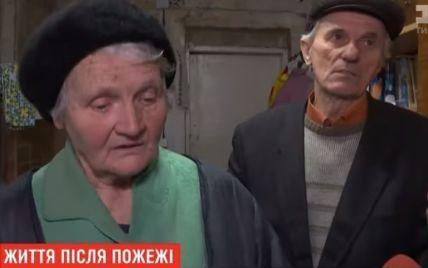 У Києві подружжя пенсіонерів-викладачів після пожежі у будинку місяць жило просто неба