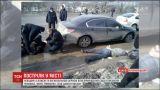 У Кропивницькому невідомі влаштували стрілянину біля суду