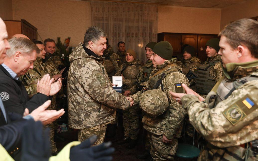 Порошенко у Широкиному / © Сайт президента України