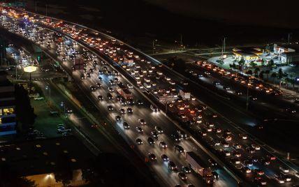 Рейтинг міст із найщільнішим трафіком у годину пік. Інфографіка