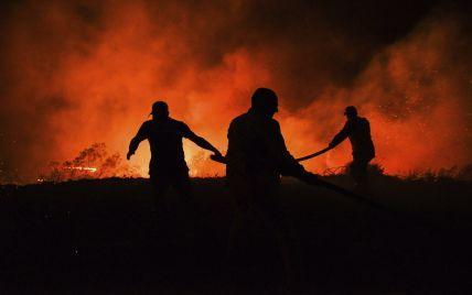 Турция в огне: Анталия и Сиде полностью задымлены, а людям фактически на голову падает пепел