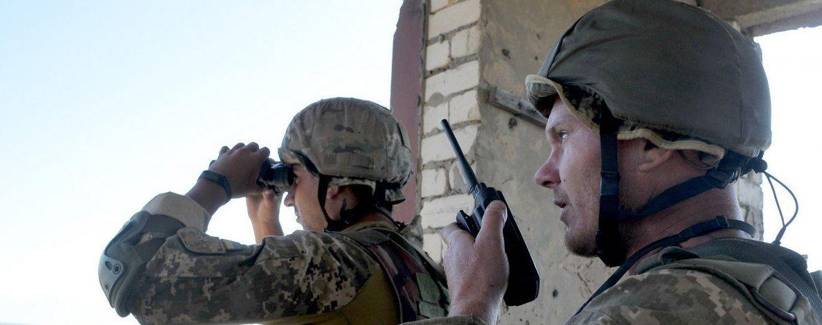 На Донбасі на міні підірвався український військовий