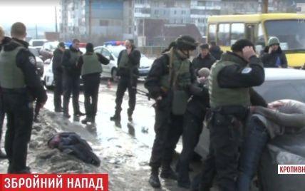 Бойовик у Кропивницькому: стрільці затримані, постраждалий на операційному столі