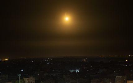 Израиль нанес ракетные удары по целям в Газе
