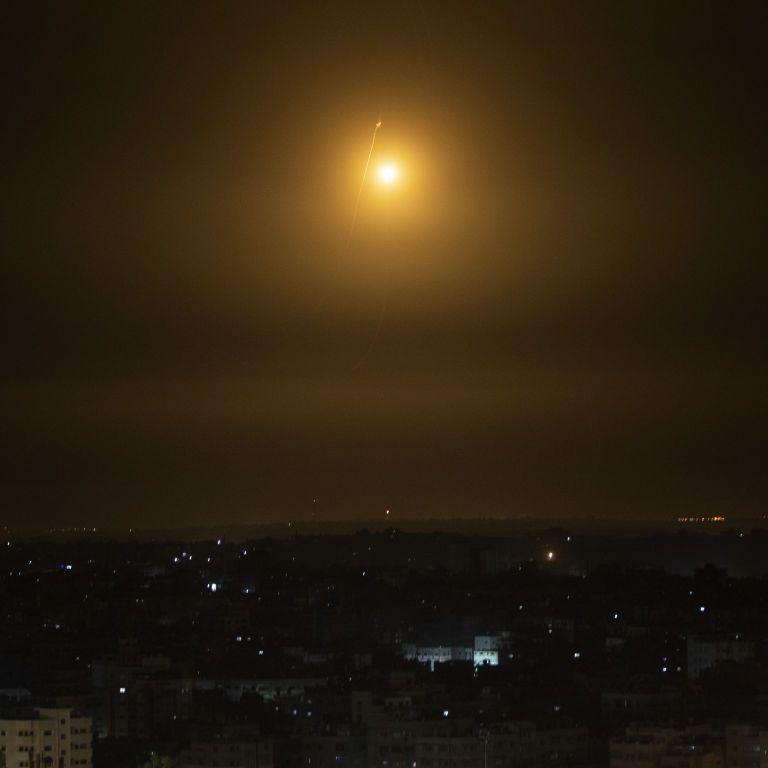 Израильская авиация атаковала офис исламского банка в Секторе Газа