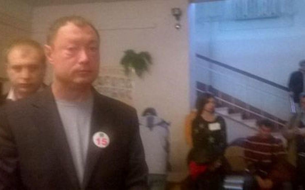Кандидаты пришли с агитацией / © Украинская правда