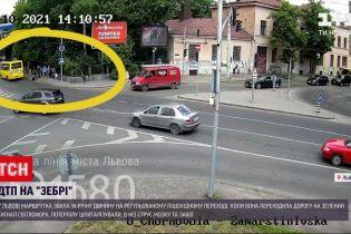 Новости Украины: 16-летнюю львовянку сбил микроавтобус, когда она переходила дорогу