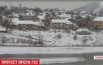 На Тернопільщині збунтувалися проти мільярдного проекту ГЕС на Дністрі