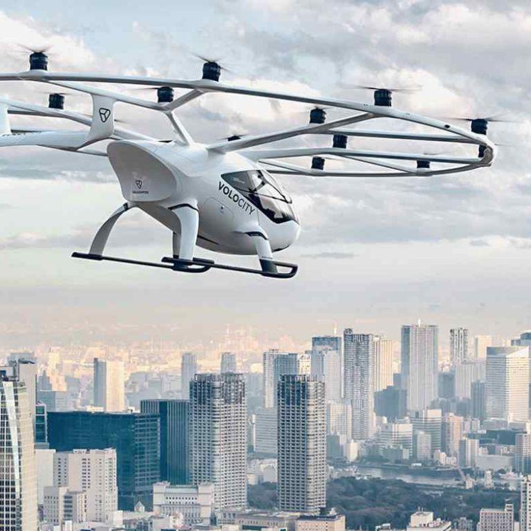 Япония планирует начать коммерческое использование летающих авто до 2025 года