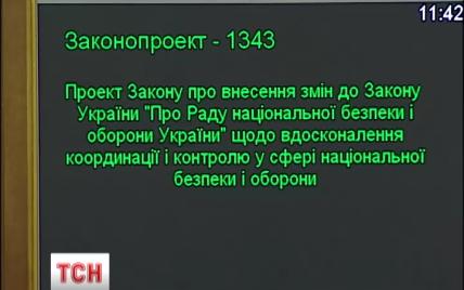 Комітет ВР із питань нацбезпеки повернув закон про РНБО на повторне читання - Тимчук