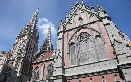 На восстановление костела в Киеве собрали почти 16 млн гривен, деньги продолжают поступать
