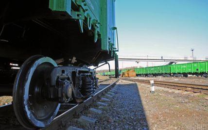 Поновився рух вантажного поїзда на Луганщині, який раніше перекрили блокадники — Укрзалізниця
