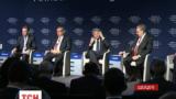 У Давосі сьогодні обговорювали майбутнє російської економіки в умовах санкцій