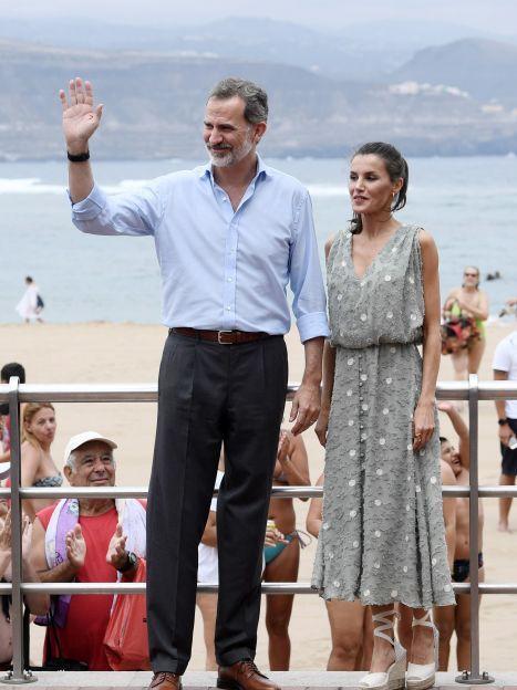 Королева Летиція і король Філіпп VI / © Getty Images
