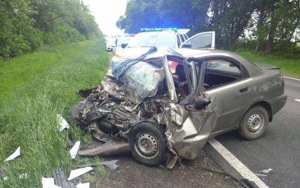 Под Харьковом произошла ужасная авария: из четырех человек выжил только один