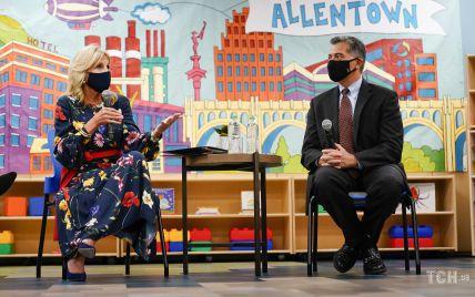 Повторила образ: Джилл Байден з'явилася на публіці в улюбленій максісукні