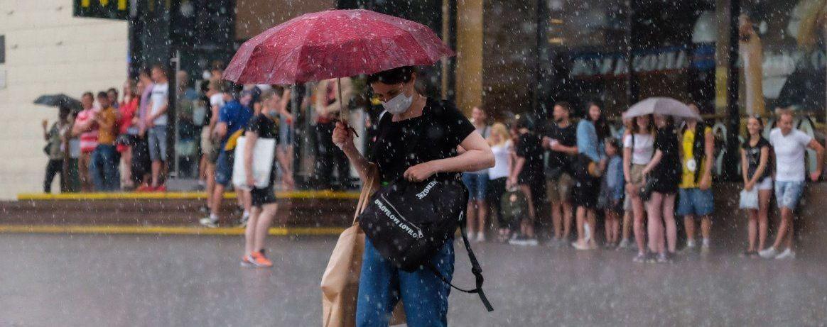 ГСЧС предупредила об опасных метеорологических явлениях в некоторых областях Украины