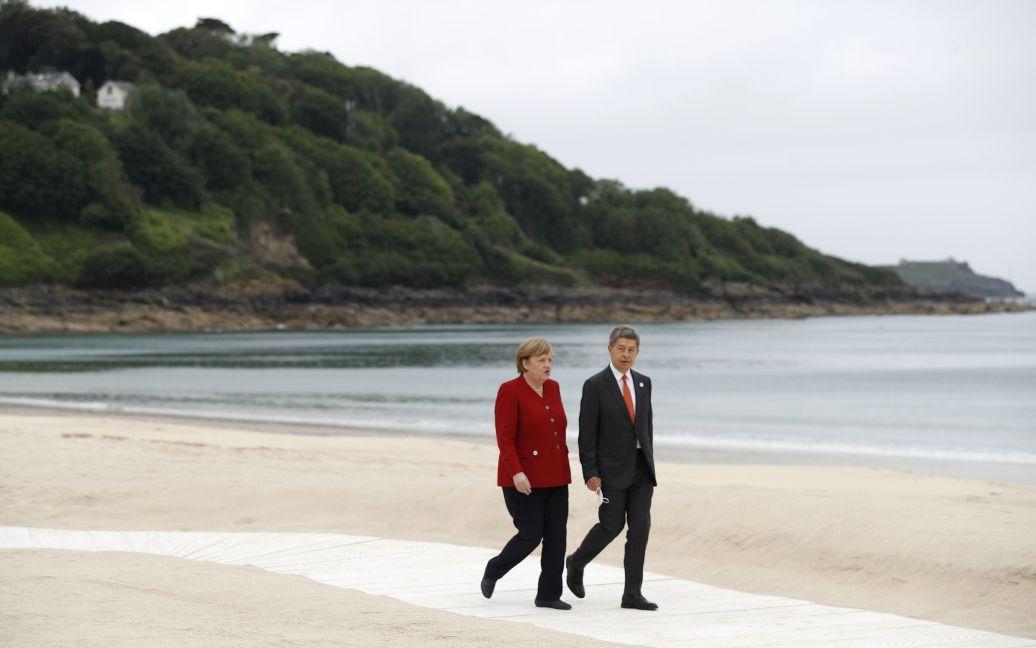 Ангела Меркель и ее муж Йоахим Зауэр / © Associated Press