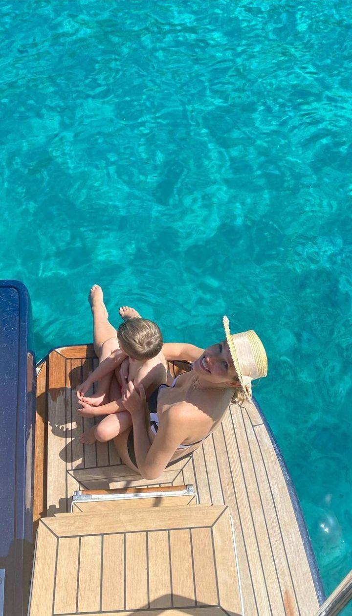 Катя Осадча з сином Іваном / © Instagram Кати Осадчей