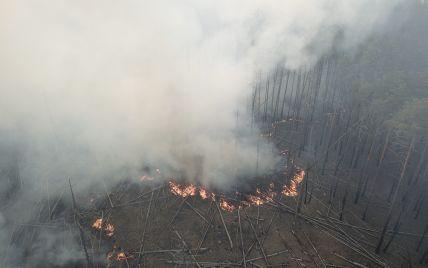 Чорнобиль горить: станцію затягнуло димом, з'являються нові осередки вогню