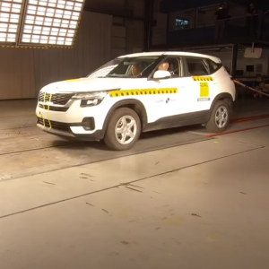 Кросовер KIA Seltos індійського виробництва провалив краштест: відео