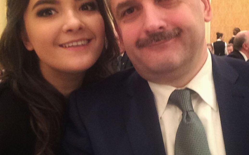 Наталя з батьком / © Facebook/Nataliya Boyko