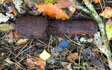 На Київщині жінка, що збирала в лісі гриби, натрапила на небезпечну знахідку