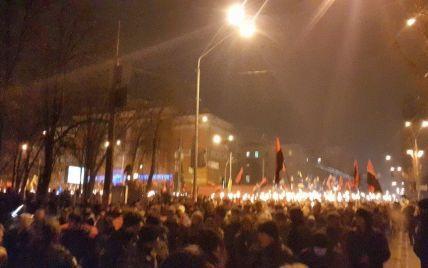 У Києві стартувала смолоскипна хода на честь Бандери