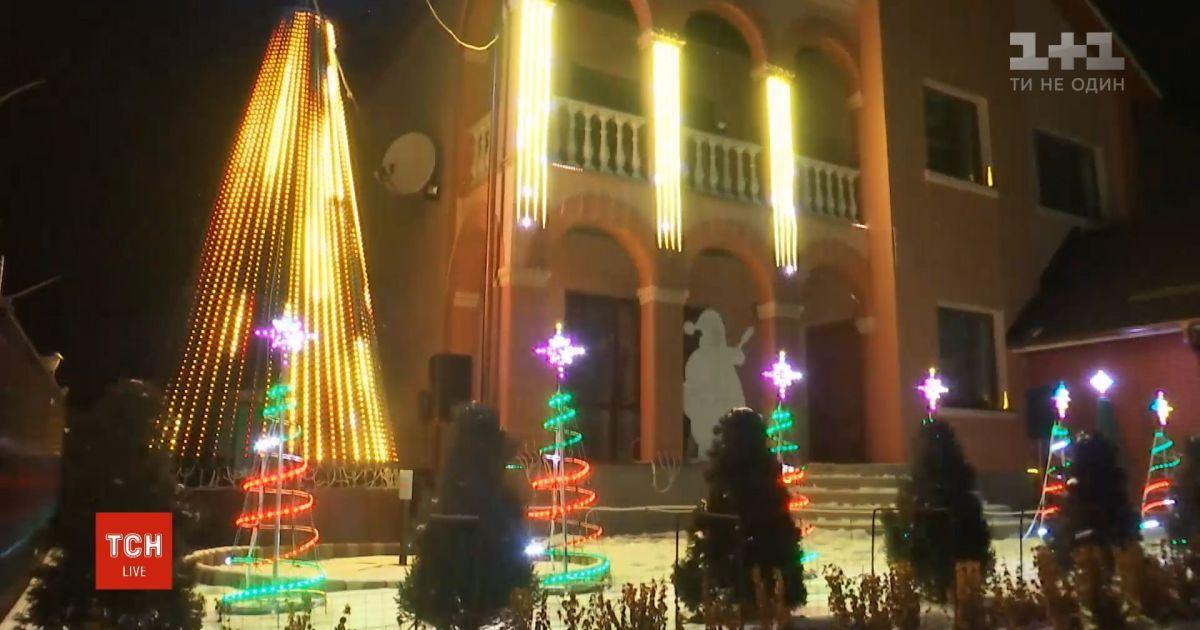 Святковий будинок: як музика та комп'ютерні технології перетворили дім на музично-світлове шоу