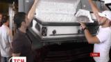 """В ялтинской гостинице """"Интурист"""" устроили выставку похоронных товаров"""
