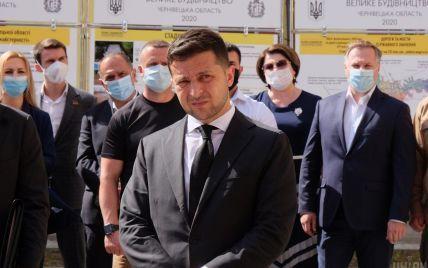 """Зеленский говорит, что не приказывал выгонять Лероса из """"Слуги народа"""""""