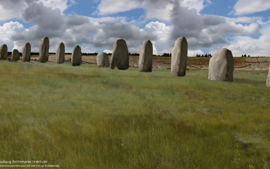Ученые компьютерно воссоздали древние камни / © Ludwig Boltzmann Institute for Archaeological Prospection and Virtual Archaeology