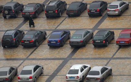 У центрі Києва анонсували створення чотирьох парковок