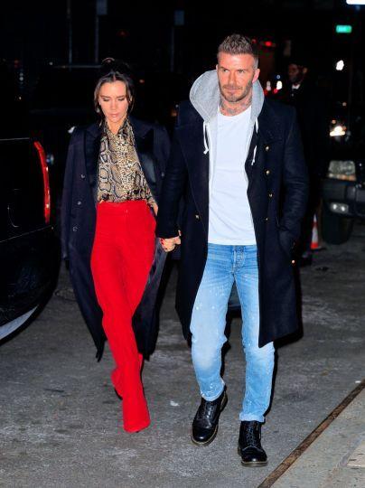 Вікторія Бекхем із чоловіком Девідом / © Getty Images