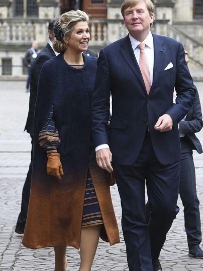 Королева Максима и король Виллем Александр / © Associated Press
