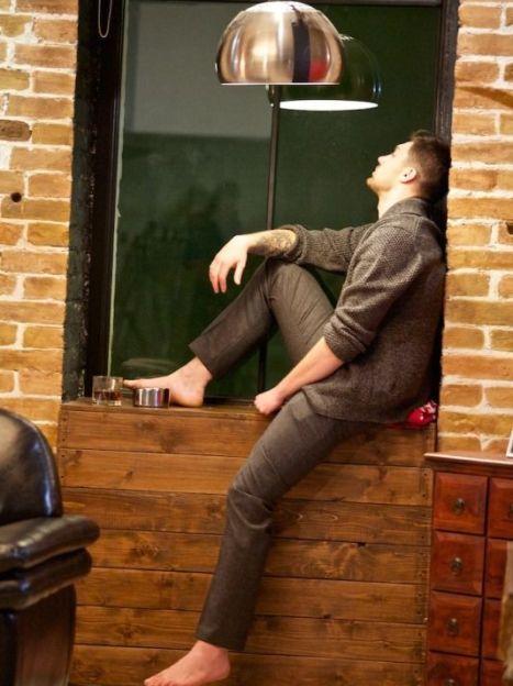 """Олег Кензов на съемках клипа """"Сон с тобой"""", фото: Андрей Деменюк / ©"""