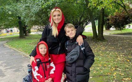 Ирина Федишин призналась, требуют ли что-то от нее в школе, в которой учатся ее дети