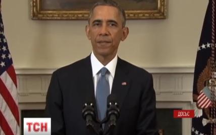 Обама вважає, що США протистоїть російській агресії, підтримуючи демократію в Україні