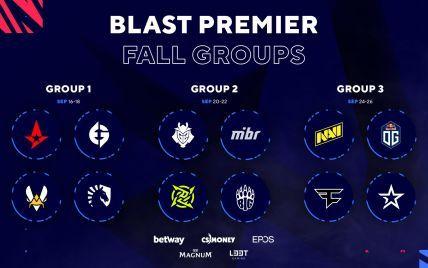 Объявлено расписание турнира BLAST Premier: Fall Groups 2021 по CS:GO