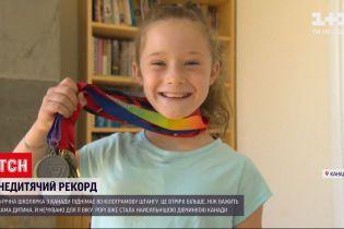 Новини світу: 8-річна дівчинка з Канади підняла 80-кілограмову штангу
